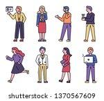 office people doing business....   Shutterstock .eps vector #1370567609