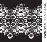 snake skin scales texture.... | Shutterstock .eps vector #1370618456