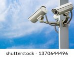 Outdoor Security Cctv On The...