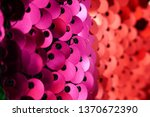sequins background.red and pink ...   Shutterstock . vector #1370672390