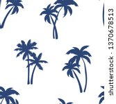 half drop seamless repeat... | Shutterstock .eps vector #1370678513