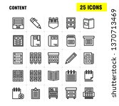 content line icon pack for...