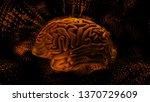 3d render abstract background... | Shutterstock . vector #1370729609