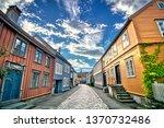 Trondheim Old Town Street