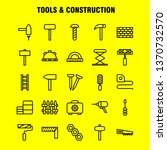 tools and construction line...