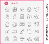 health hand drawn icon for web  ... | Shutterstock .eps vector #1370736299