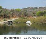 Lake Kariba Sea in Zimbabwe South Africa