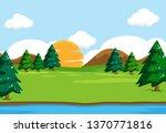 outdoor nature background scene ...   Shutterstock .eps vector #1370771816