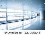 image of windows in morden... | Shutterstock . vector #137080646