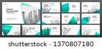 keynote presentation templates... | Shutterstock .eps vector #1370807180
