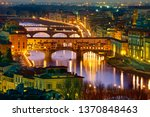 europe  italy  florence  ponte... | Shutterstock . vector #1370848463