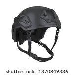 tactical helmet isolated. 3d...   Shutterstock . vector #1370849336