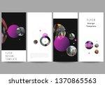 the minimalistic vector... | Shutterstock .eps vector #1370865563