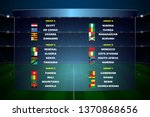 africa nations soccer cup... | Shutterstock .eps vector #1370868656