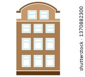 vector apartment complex... | Shutterstock .eps vector #1370882300