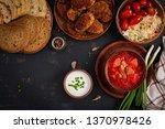 traditional ukrainian russian... | Shutterstock . vector #1370978426