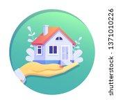 home loan concept  rent  ... | Shutterstock .eps vector #1371010226