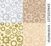light brown and gray vector... | Shutterstock .eps vector #1371019643