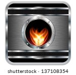 Metal Background With Vector...