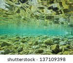 River With Crystal Clear Water