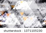seamless grunge background with ... | Shutterstock .eps vector #1371105230