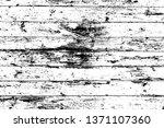 grunge wood overlay texture.... | Shutterstock . vector #1371107360