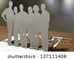 creating your own success  ... | Shutterstock . vector #137111408