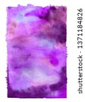 abstract color watercolor shape ... | Shutterstock . vector #1371184826
