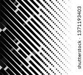 monochrome geometric vector...   Shutterstock .eps vector #1371193403