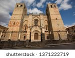 cathedral of sig enza  province ...   Shutterstock . vector #1371222719