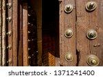 door of the cathedral of sig...   Shutterstock . vector #1371241400