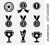 award medal icons vector ... | Shutterstock .eps vector #1371260300