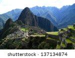 machu picchu  peru | Shutterstock . vector #137134874