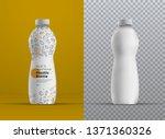 vector realistic mockup plastic ... | Shutterstock .eps vector #1371360326