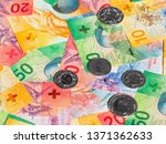 collection of the new swiss... | Shutterstock . vector #1371362633