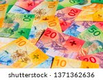 collection of the new swiss... | Shutterstock . vector #1371362636