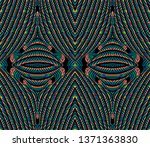 color seamless pattern with... | Shutterstock .eps vector #1371363830