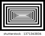 optical background with striped ... | Shutterstock .eps vector #1371363836