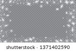 glitter snowflakes background....   Shutterstock .eps vector #1371402590