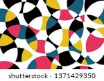 abstract background pattern... | Shutterstock .eps vector #1371429350