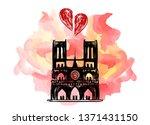 Notre Dame De Paris On Fire....
