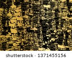 black and golden grunge... | Shutterstock .eps vector #1371455156