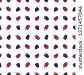 blackberry  bramble  dewberry ... | Shutterstock .eps vector #1371457046