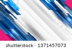 vector of usa color backgrounds ... | Shutterstock .eps vector #1371457073