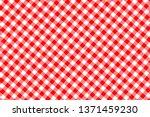 red gingham seamless pattern.... | Shutterstock .eps vector #1371459230