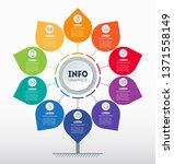 business presentation or...   Shutterstock .eps vector #1371558149
