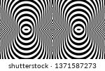 seamless pattern with hypnotic... | Shutterstock .eps vector #1371587273
