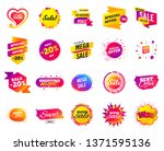 sale banner. special offer... | Shutterstock .eps vector #1371595136
