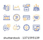 change card  accounting wealth...   Shutterstock .eps vector #1371595139