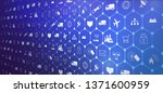 iot  internet of things   or... | Shutterstock .eps vector #1371600959